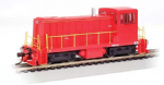 Bachmann 60609, DCC-Equipped GE 70 Ton Diesel Locomotive, Unlettered Red